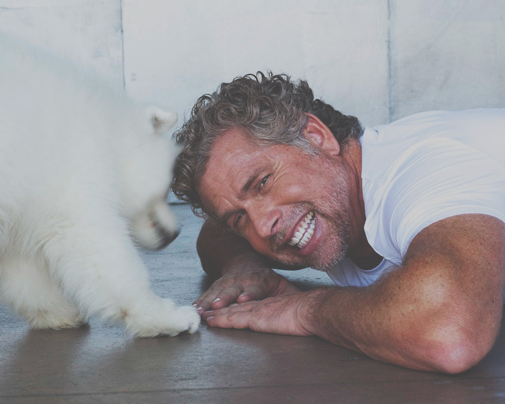 Brian and Puppy